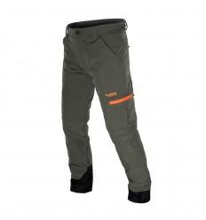 Pantalone Caccia MABON II Verde Militare/Arancio Fluo - LEXEL hunting