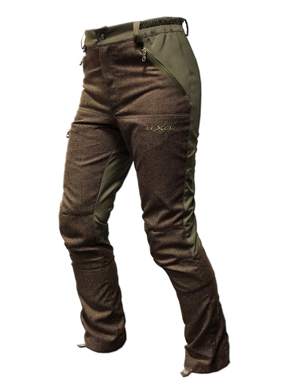 Pantalone Caccia AXTAR PLUS Bielastica kevlar LEXEL hunting Carpi MO
