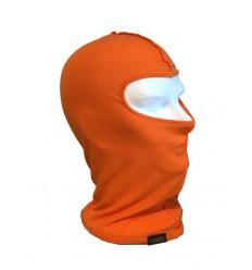 Passamontagna in Cotone Arancio fluo